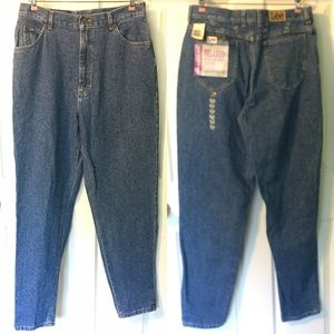 New Vintage Lee High Waist Tapered Long Jean 16